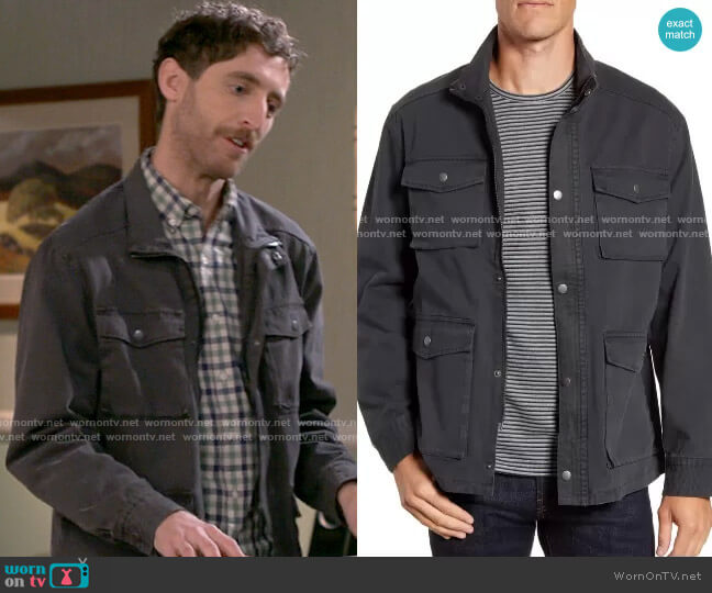 Rails Porter Jacket worn by Drew Dunbar (Thomas Middleditch) on B Positive