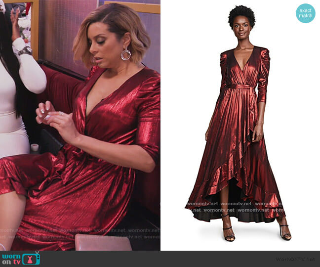 Flora Dress by Retrofete worn by Robyn Dixon  on The Real Housewives of Potomac
