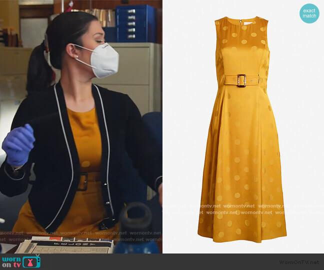 Innabel Dress by Ted Baker worn by Sherri Kansky (Ruthie Ann Miles) on All Rise