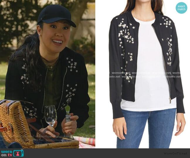 Priyaa Jacket by Ted Baker worn by Sherri Kansky (Ruthie Ann Miles) on All Rise