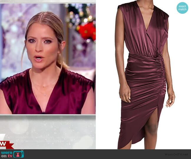 Casela Dress by Veronica Beard worn by Sara Haines  on The View