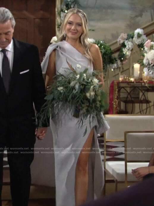 Abby's wedding dress on The Young and the Restless