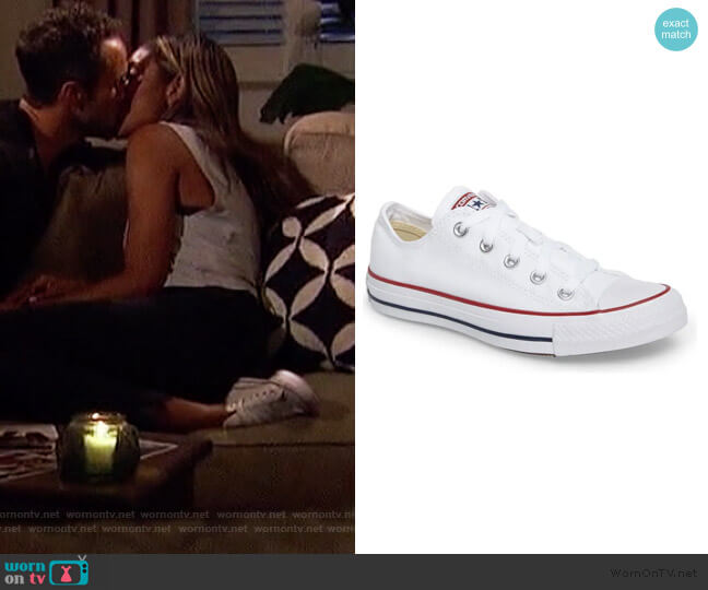 Low Top Sneaker by Chuck Taylor worn by Tayshia Adams  on The Bachelorette