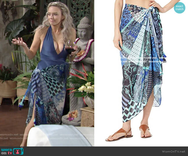 Echo Sea Life Pareo worn by Abby Newman (Melissa Ordway) on The Young & the Restless