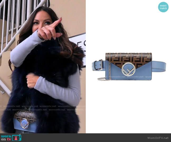 FF Belt Bag by Fendi worn by Lisa Barlow  on The Real Housewives of Salt Lake City