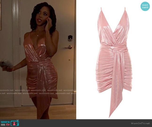 House of CB Ciara Dress worn by Andrea Barnes (Kj Smith) on Tyler Perrys Sistas