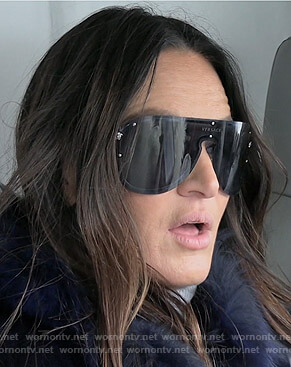 Lisa's black sunglasses on The Real Housewives of Salt Lake City