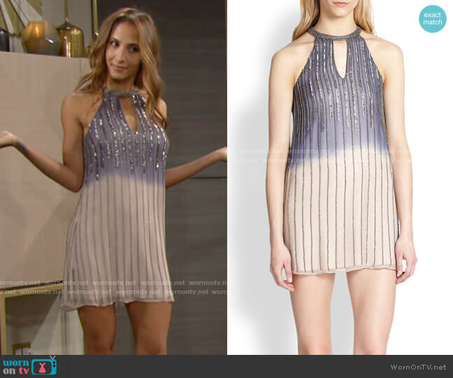 Parker Sansa Dress worn by Lily Winters (Christel Khalil) on The Young & the Restless