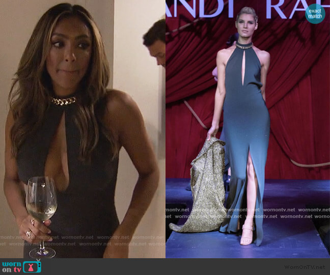 Couture Collection by Randi Rahm worn by Tayshia Adams  on The Bachelorette