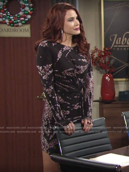 Sally's tie dye dress on The Young and the Restless