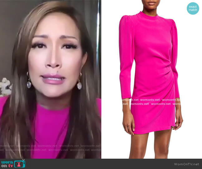 Jane Dress by A.L.C. worn by Carrie Inaba  on The Talk