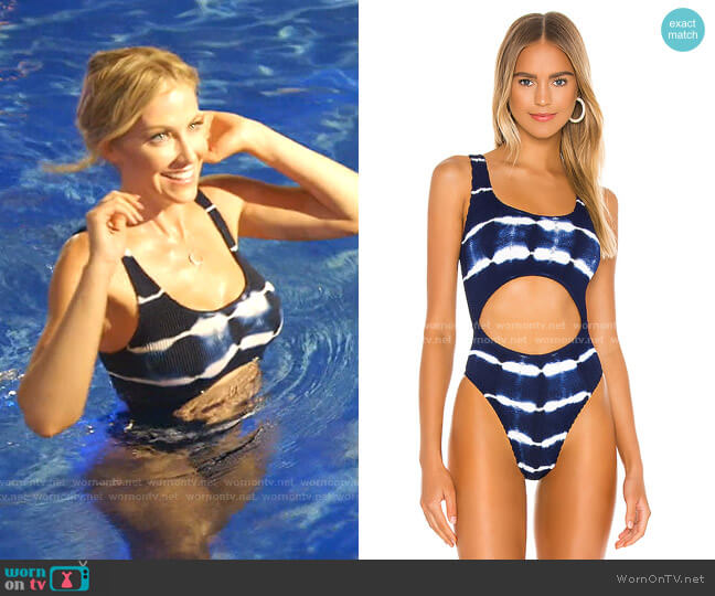 The Mishy One Piece by Bond Eye x BOUN worn by Stephanie Hollman  on The Real Housewives of Dallas