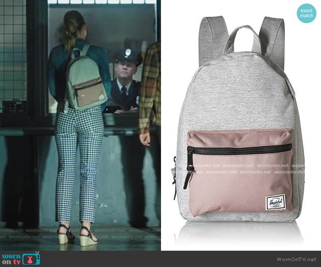 Grove X-Small Backpack Light Grey Backpack by Herschel worn by Betty Cooper (Lili Reinhart) on Riverdale