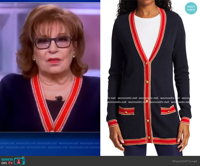 Ariel Cardigan by L'Agence worn by Joy Behar  on The View