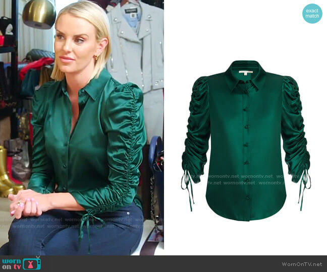 Lillian Blouse by Veronica Beard worn by Whitney Rose  on The Real Housewives of Salt Lake City