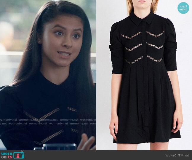 Maje Ratila Dress worn by June Park (Daniela Norman) on Tiny Pretty Things