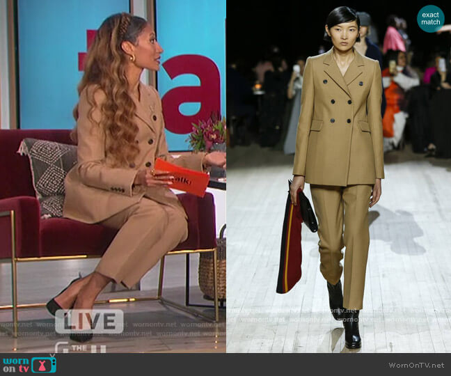 2020 Winter Fall Collection by Marc Jacobs worn by Elaine Welteroth  on The Talk