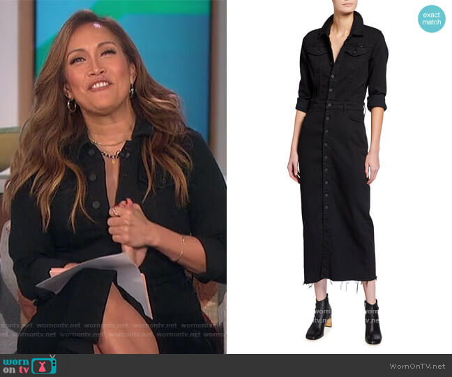 The Cover-Up Dress by Mother worn by Carrie Inaba  on The Talk