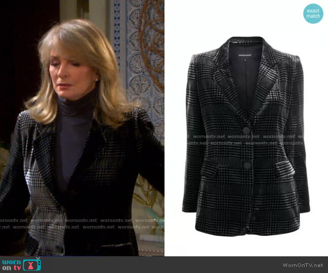 worn by Marlena Evans (Deidre Hall) on Days of our Lives