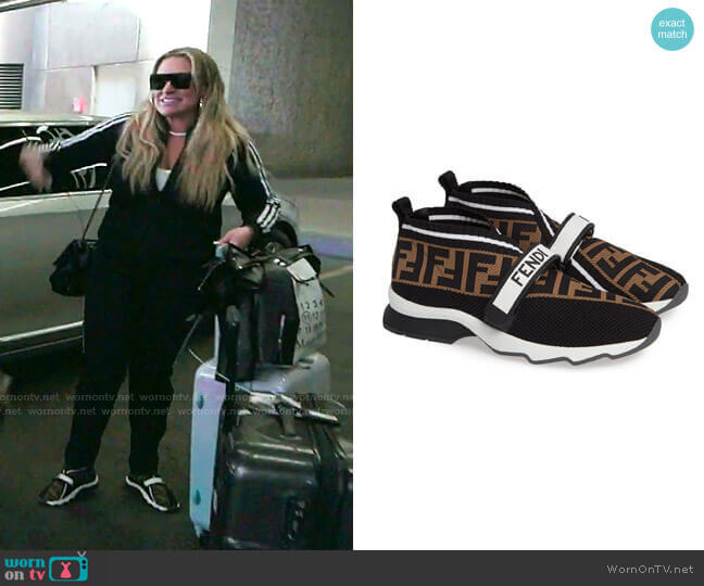 Rockoko Knit Sneaker by Fendi worn by Heather Gay  on The Real Housewives of Salt Lake City