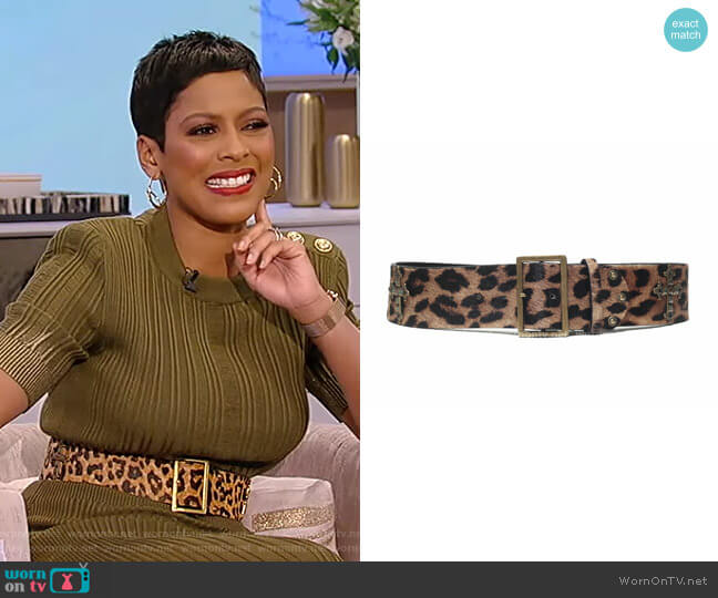 Roma Belt by Born To Roam worn by Tamron Hall  on Tamron Hall Show