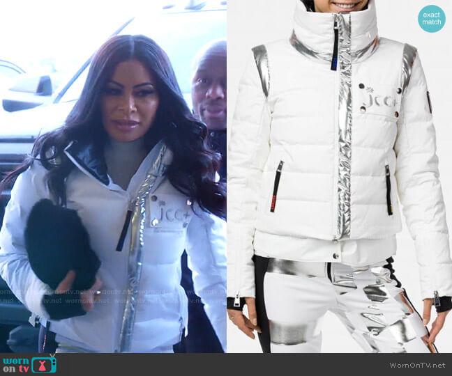 Moonie Down Jacket by by Rossignol x Jcc worn by Jen Shah  on The Real Housewives of Salt Lake City