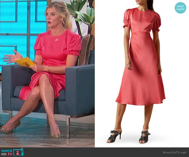 Blaer Bias Midi Dress by Ted Baker worn by Amanda Kloots  on The Talk