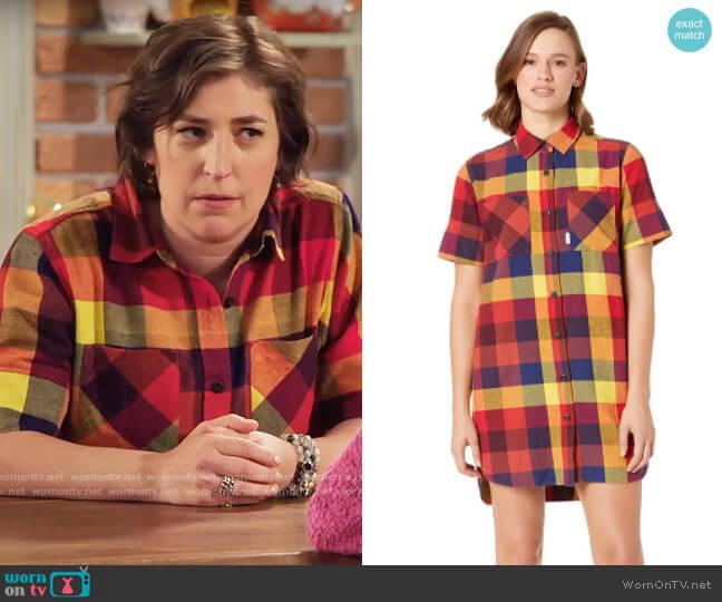 Topo Designs Shirtdress worn by Kat Silver (Mayim Bialik) on Call Me Kat