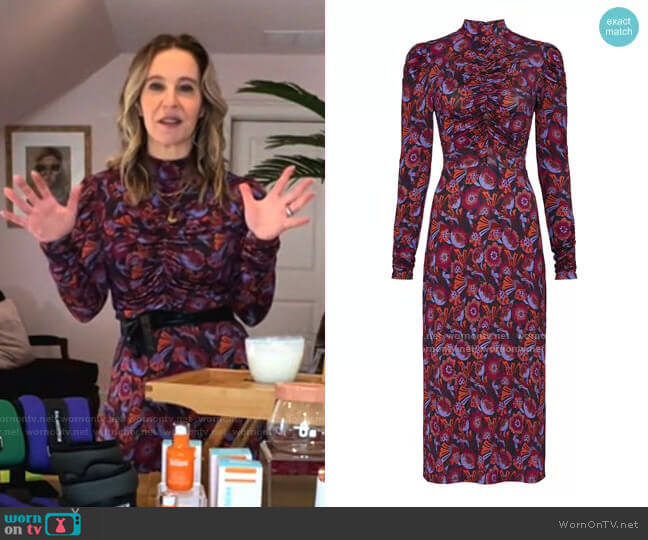 Zoe Dress by Tanya Taylor worn by Jenn Falik on Today