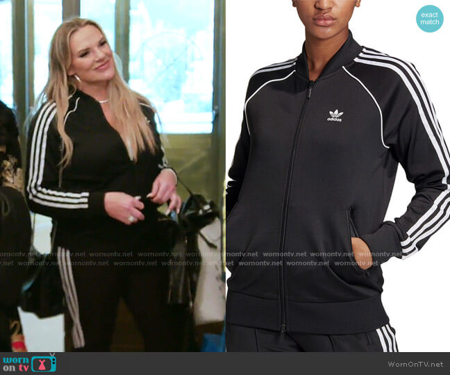 Superstar Track Jacket by Adidas worn by Heather Gay  on The Real Housewives of Salt Lake City