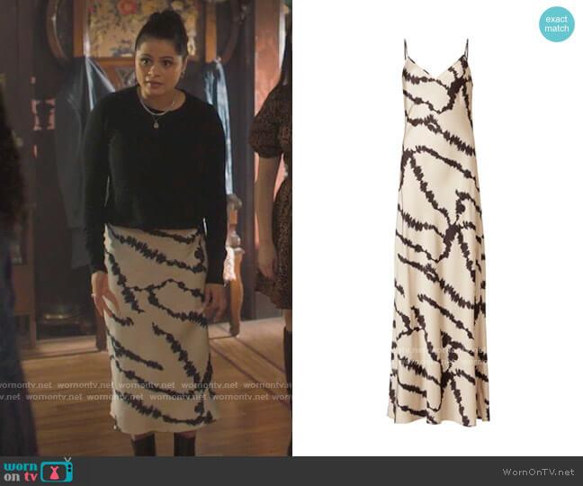 All Saints Lieto Dress worn by Mel Vera (Melonie Diaz) on Charmed
