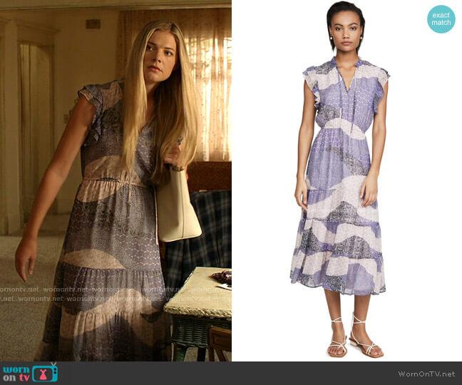 All Mixed Up Dress by BB Dakota worn by Tami Tamietti (Kate Miner) on Shameless