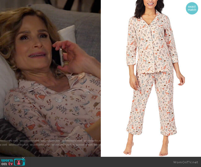 BedHead Fox Trot Pajamas worn by Jean Raines (Kyra Sedgwick) on Call Your Mother