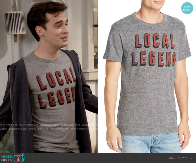 Chaser Local Legend Graphic Tee worn by Freddie Raine (Joey Bragg) on Call Your Mother