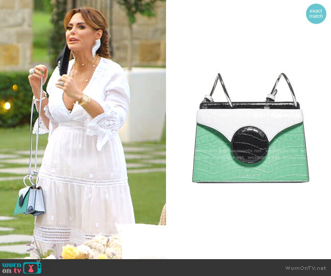 Mini Phoebe Shoulder Bag by Danse Lente worn by D'Andra Simmons  on The Real Housewives of Dallas