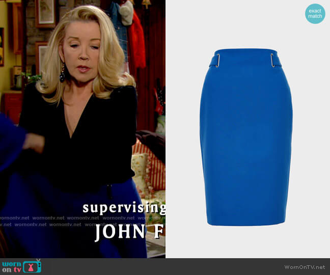 Hobbs Iana Pencil Skirt worn by Nikki Reed Newman (Melody Thomas-Scott) on The Young & the Restless