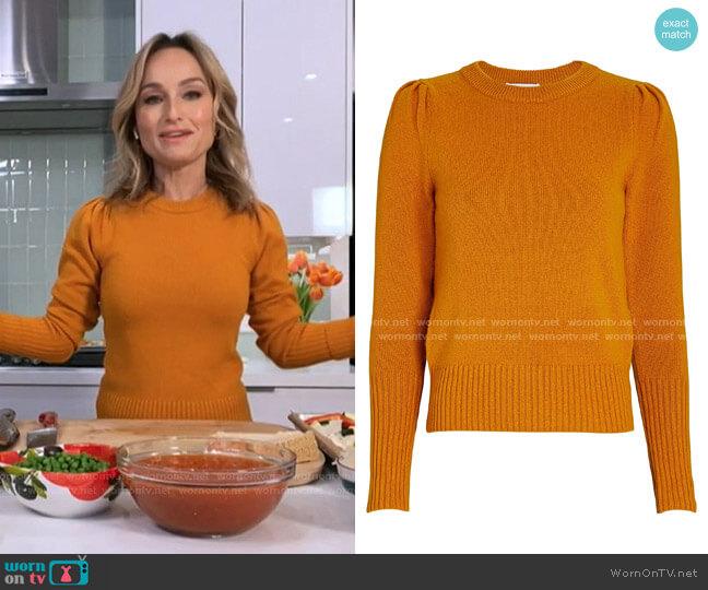 Robin Puff Sleeve Sweater by Intermix worn by Giada DeLaurentiis on Today