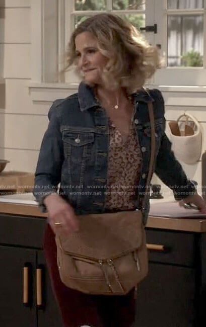 Jean's bag on Call Your Mother