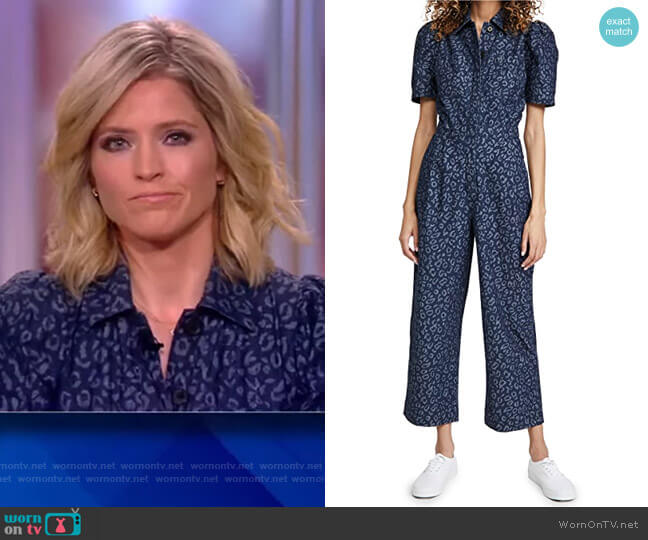 Morgen Jumpsuit by Joie worn by Sara Haines  on The View