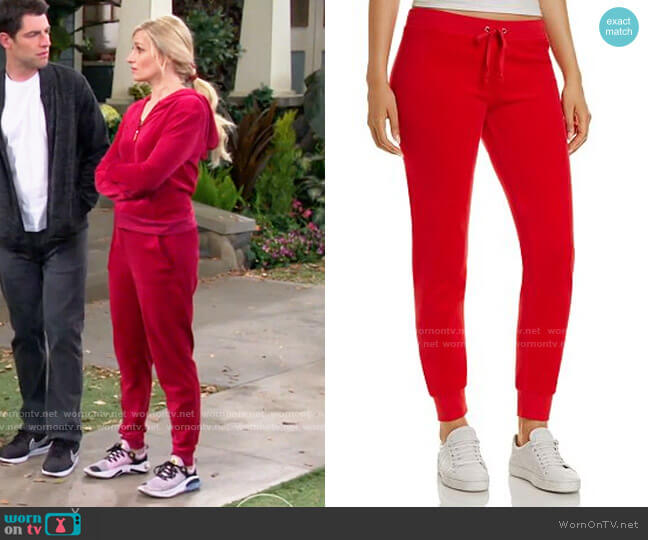 Juicy Couture Zuma Pants worn by Gemma (Beth Behrs) on The Neighborhood