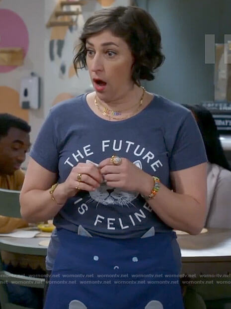 Kat's The Future is Feline t-shirt on Call Me Kat