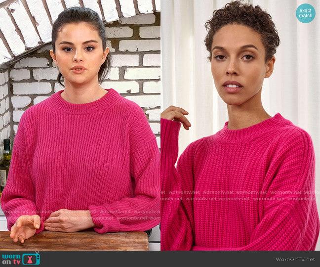 La Ligne Toujours Sweater worn by Selena Gomez  on Selena + Chef