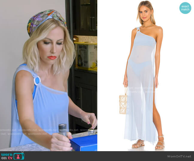 Demi Dress by Lovewave worn by Stephanie Hollman  on The Real Housewives of Dallas
