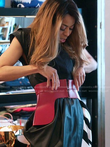 Mary's red corset on The Real Housewives of Salt Lake City