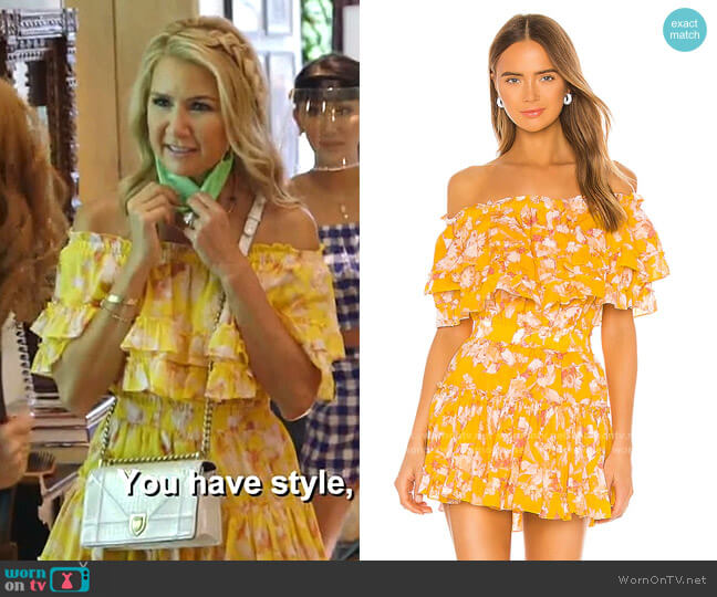 Luella Dress by Misa worn by Kary Brittingham  on The Real Housewives of Dallas