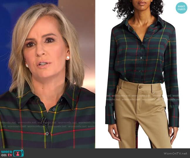Harris Shirt by Monse worn by Dr. Jennifer Ashton  on Good Morning America