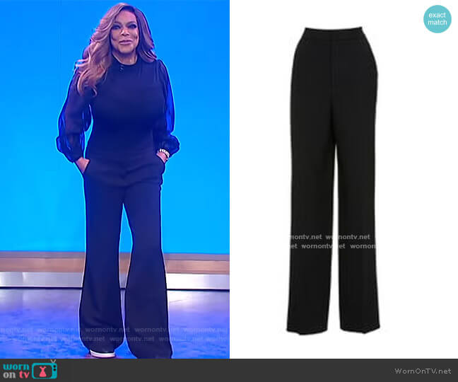 Paulson Trousers by Prabal Gurung worn by Wendy Williams  on The Wendy Williams Show