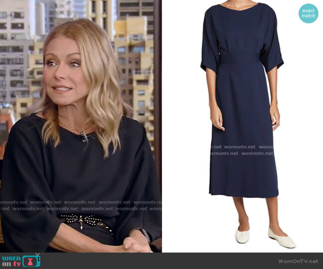 Lyss Dress by Rachel Comey worn by Kelly Ripa  on Live with Kelly & Ryan