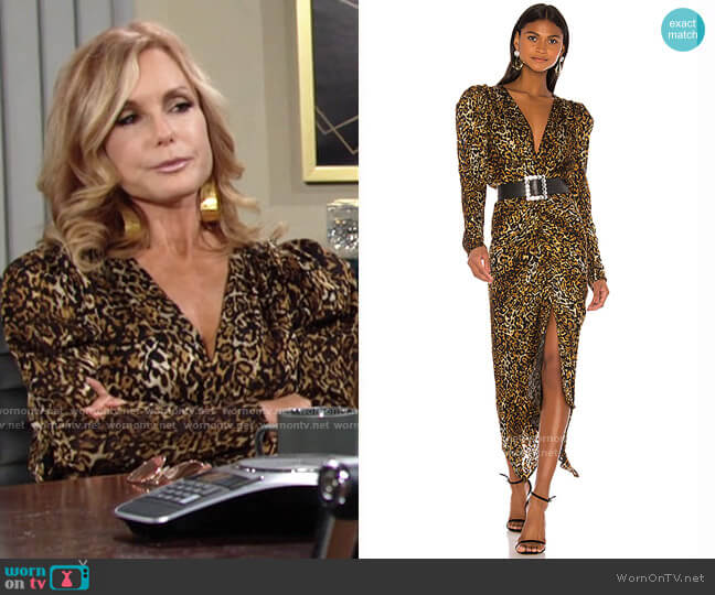 Ronny Kobo Astrid Dress worn by Lauren Fenmore (Tracey Bregman) on The Young & the Restless