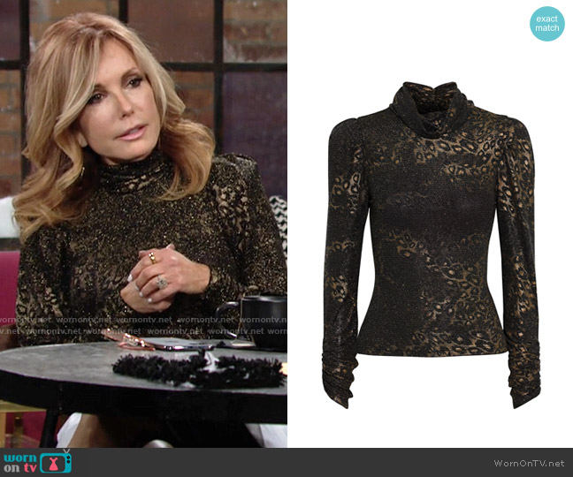 Ronny Kobo Viada Top worn by Lauren Fenmore (Tracey Bregman) on The Young & the Restless